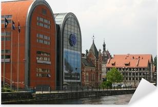 bydgoszcz - city center Pixerstick Sticker
