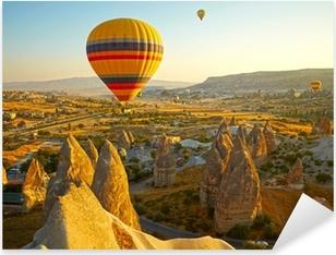 Cappadocia. Turkey Pixerstick Sticker