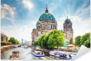 Sticker Pixerstick Cathédrale de Berlin. Berliner Dom. Berlin, Allemagne