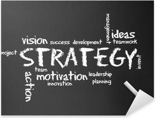 Chalkboard - Strategy Pixerstick Sticker