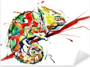 chameleon Pixerstick Sticker