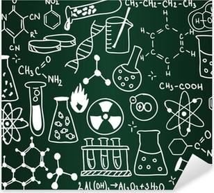 Chemistry school board Pixerstick Sticker