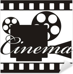 Pixerstick Sticker Cinema