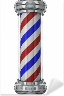 Pixerstick Sticker Classic Barber Pole