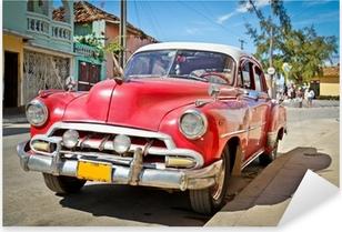 Classic Chevrolet in Trinidad, Cuba Pixerstick Sticker