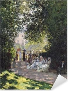 Pixerstick Sticker Claude Monet - Het Parc Monceau