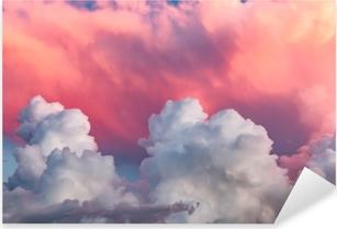 clouds at sunset Pixerstick Sticker