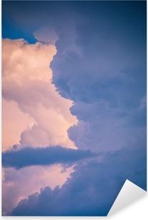 clouds Pixerstick Sticker