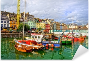 Cobh in Ireland Pixerstick Sticker