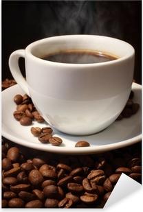 Coffee Pixerstick Sticker