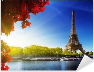 color of autumn in Paris Pixerstick Sticker