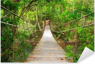 Sticker Pixerstick Combler dans la jungle, Parc national Khao Yai, Thaïlande