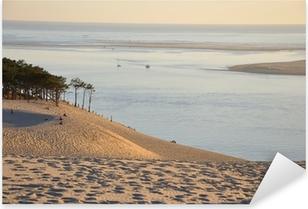 Sticker Pixerstick Coucher de soleil sur la dune du pyla 12