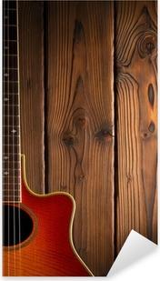 Pixerstick Sticker Country en western gitaar