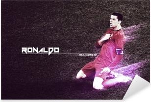 Cristiano Ronaldo Pixerstick Sticker