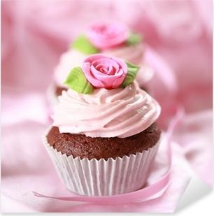 Cupcakes für Verliebte Pixerstick Sticker