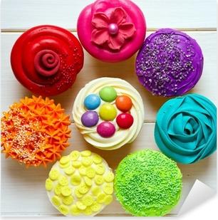 Cupcakes Pixerstick Sticker