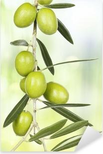 Sticker Pixerstick D olive branch