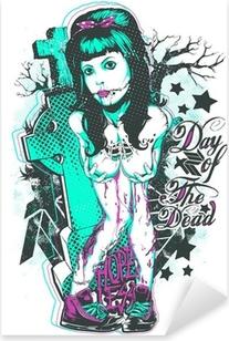 Day of the dead Pixerstick Sticker