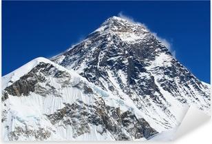 Pixerstick Sticker De hoogste berg ter wereld, Mount Everest (8850m)
