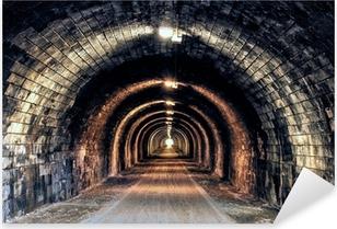 Sticker Pixerstick De la lumière à l'extrémité du tunnel