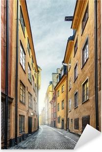 Pixerstick Sticker De Oude Stad in Stockholm