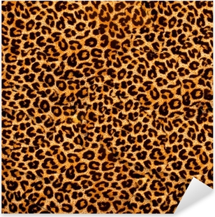 Sticker Pixerstick Décoratif texture léopard