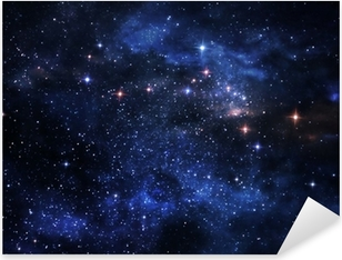 Deep space nebulae Pixerstick Sticker