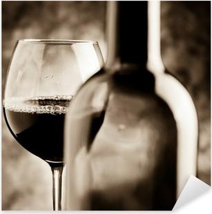 Sticker Pixerstick Dégustation de vins - Dégustation de vin