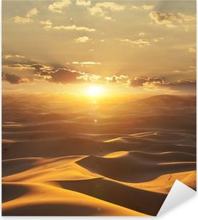 Pixerstick Sticker Desert