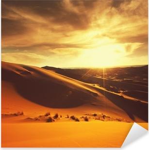 Desert Pixerstick Sticker