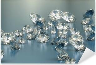 Sticker Pixerstick Diamants