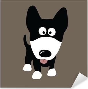 Pixerstick Sticker Dog wolf