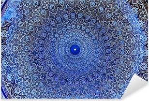 Sticker Pixerstick Dôme de la mosquée, ornements orientaux