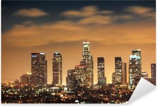 Downtown Los Angeles skyline Pixerstick Sticker