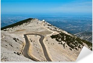 Pixerstick Sticker DR 974 naar de top van de Mont Ventoux