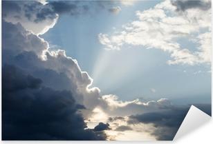 dramatic sky Pixerstick Sticker