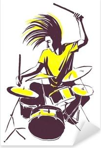Drum Kit Sticker • Pixers® - We live to change