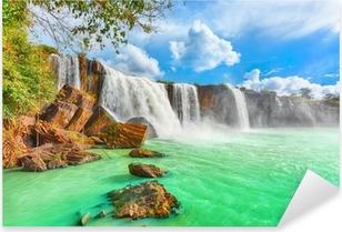 Dry Nur waterfall Pixerstick Sticker