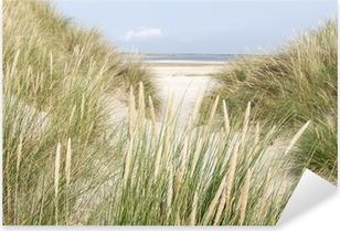Sticker Pixerstick Dunes de sable aux Pays-Bas