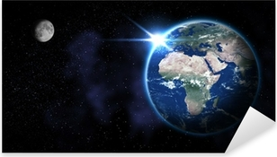 Earth from Space Pixerstick Sticker