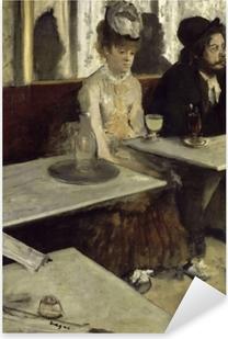 Edgar Degas - Absinthe Pixerstick Sticker