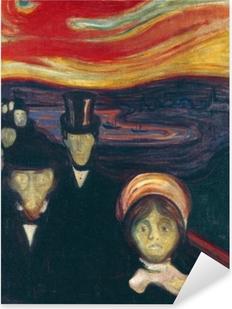 Pixerstick Sticker Edvard Munch - Angst