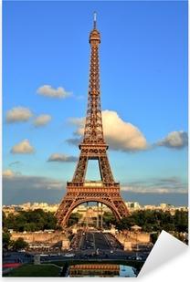 Eiffel Tower, Paris Pixerstick Sticker