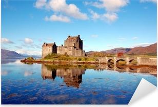 Eilean Donan Castle, Highlands, Scotland Pixerstick Sticker