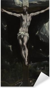 Pixerstick Sticker El Greco - De kruisiging