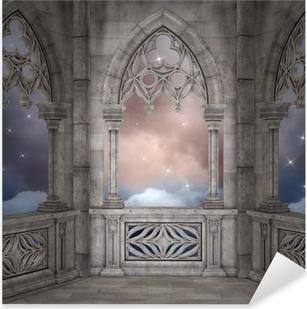 Elven palace background Pixerstick Sticker