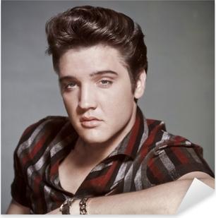 Elvis Presley Pixerstick Sticker