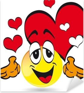 Sticker Emoticone Smiley Pixers Nous Vivons Pour Changer