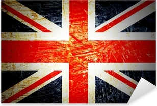 Pixerstick Sticker Engels vlag